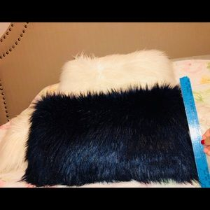 Other - faux fur decorative pillow